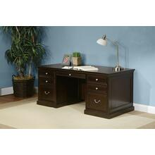 "See Details - 72"" Double Pedestal Desk"