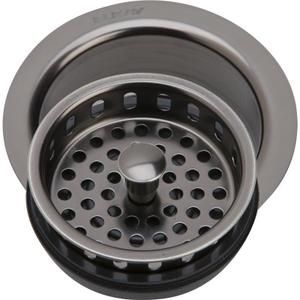 """Elkay 3-1/2"""" Drain Fitting Antique Steel Finish Disposer Flange and Removable Strainer Product Image"""