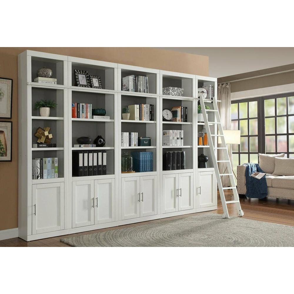 CATALINA 6 Piece Small Library Wall with Ladder