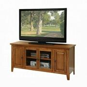 "ACME Christella TV Stand - 10342 - Oak for Flat Screens TVs up to 60"" Product Image"