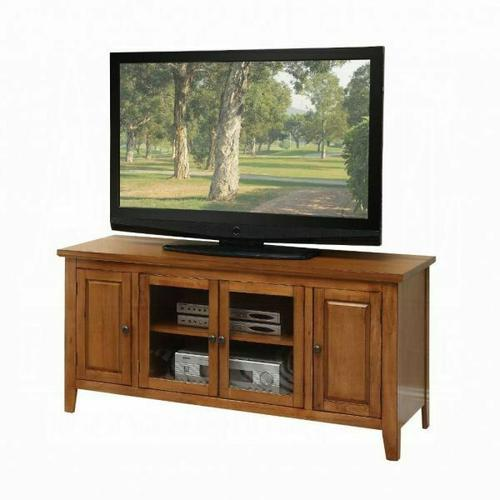 """ACME Christella TV Stand - 10342 - Oak for Flat Screens TVs up to 60"""""""