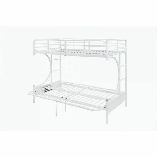 ACME Eclipse Twin/Full/Futon Bunk Bed - 02081WH - White
