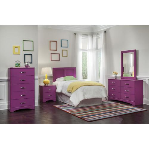 Raspberry Twin Bedroom Suit