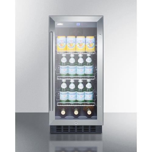 """Summit - 15"""" Wide Built-in Beverage Center"""