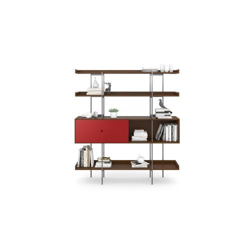 BDI Furniture - Margo 5201 Shelf in Toasted Walnut Cayenne