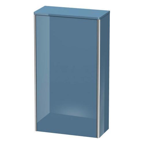 Semi-tall Cabinet, Stone Blue High Gloss (lacquer)