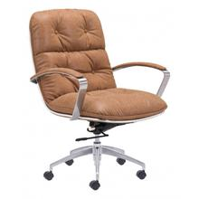 See Details - Avenue Office Chair Vintage Coffee