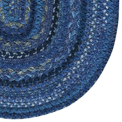 """Capel Rugs - Bayview Twilight Blue - Oval - 11'4"""" x 14'4"""""""