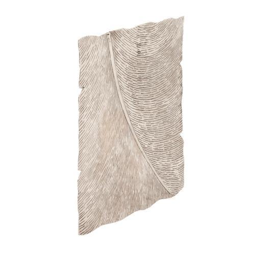Howard Elliott - Square Leaf Wall Decor Antique Silver Large