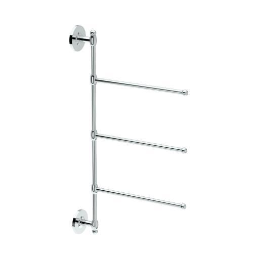 3-Arm Towel Bar in Chrome