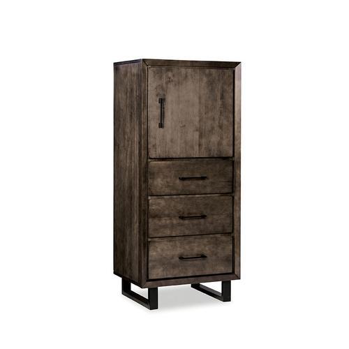Durham Furniture - Lingerie Chest with RH Hinge
