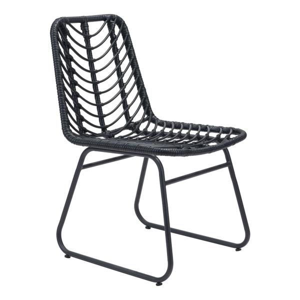 See Details - Laporte Dining Chair Black