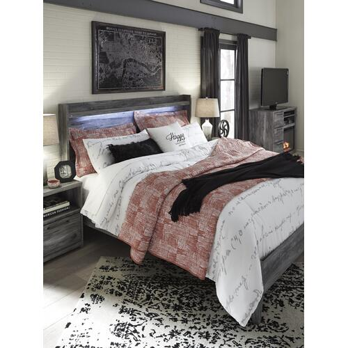 King Size Panel Bed