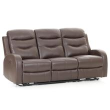 Milano Power Reclining Sofa  Chocolate