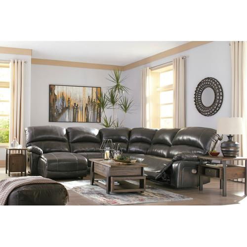 5 Piece Power Reclining Sectional