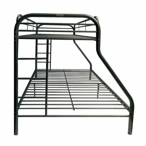 ACME Tritan Twin XL/Queen Bunk Bed - 02052BK - Black