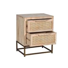 See Details - Nightstand - Natural Finish