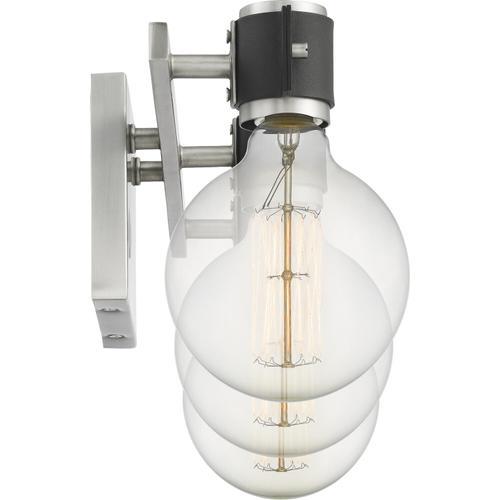 Quoizel - Curie Bath Light in Antique Nickel