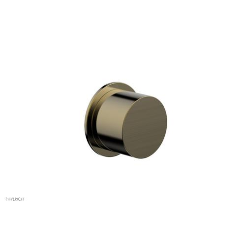 BASIC II Cabinet Knob - Smooth 230-91 - Antique Brass