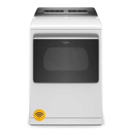 Whirlpool - 7.4 cu. ft. Top Load Electric Dryer with Advanced Moisture Sensing