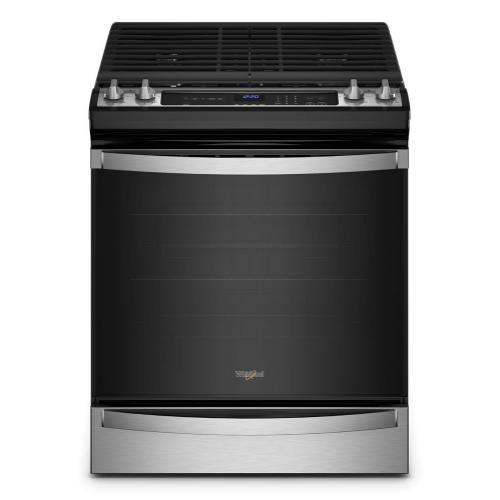 Whirlpool - 5.8 Cu. Ft. Whirlpool® Gas 7-in-1 Air Fry Oven