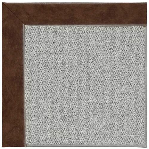 Inspire-Silver Cowhide Mahogany Machine Tufted Rugs