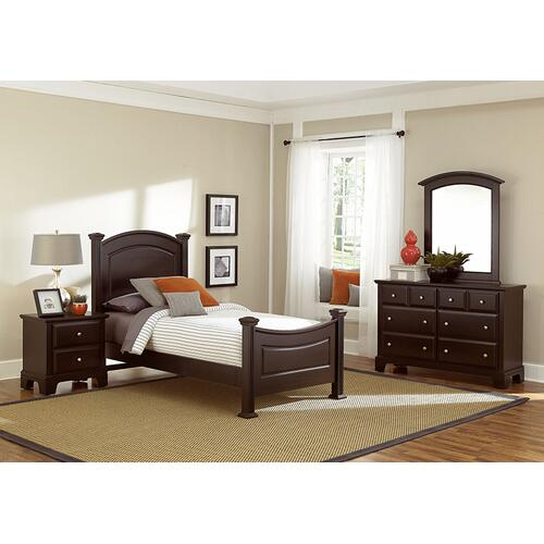 Vaughan-Bassett - Panel Bed