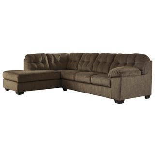 Accrington Brown Sectional Left