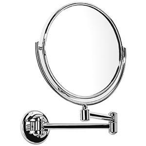 Samuel Heath - Brushed Gold Matt Plain / magnifying (x3) pivotal mirror
