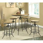 Transitional Bar Stool