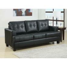 Product Image - Samuel Transitional Black Sleeper Sofa