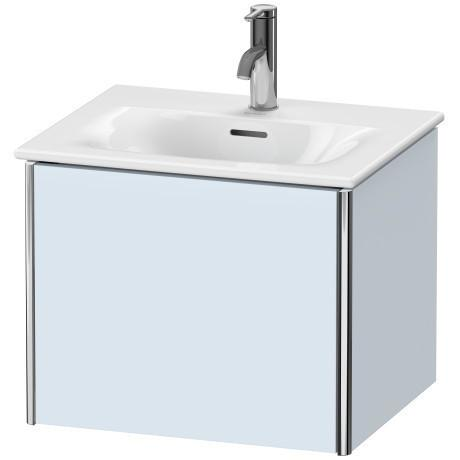 Product Image - Vanity Unit Wall-mounted, Light Blue Satin Matte (lacquer)