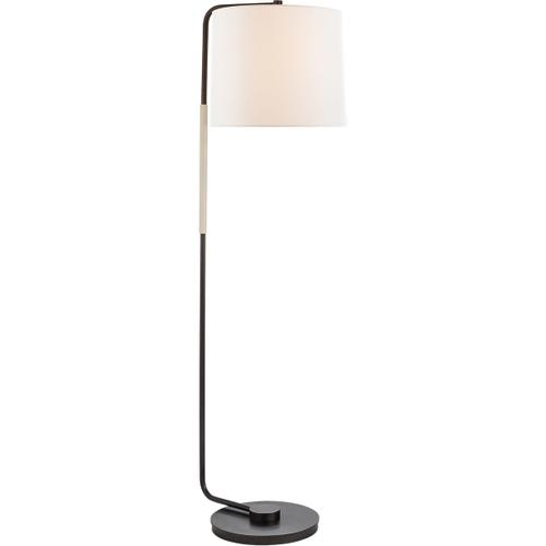 Visual Comfort - Barbara Barry Swing 55 inch 75.00 watt Bronze Floor Lamp Portable Light, Articulating