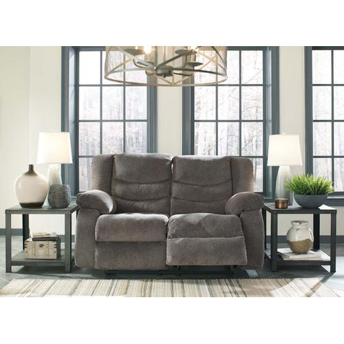 Tulen Reclining Loveseat - Gray