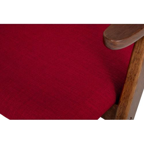 VIG Furniture - Maddox - Modern Red & Walnut Dining Chair (Set of 2)