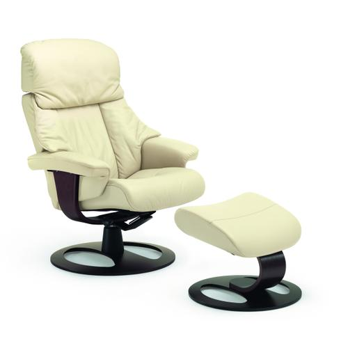 520 Alfa R Manual Large Recliner With Footstool