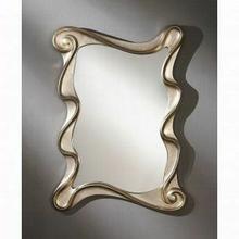 ACME Arla Accent Mirror (Wall) - 97094 - Champagne Silver