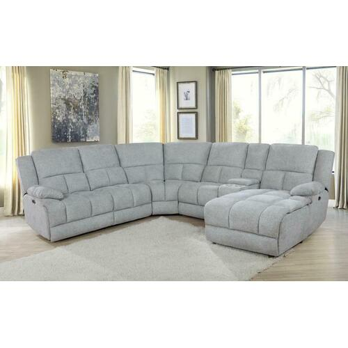 6 PC Power Sectional
