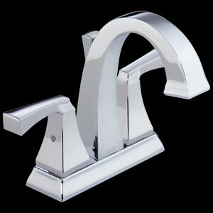 Two Handle Centerset Bathroom Faucet Product Image