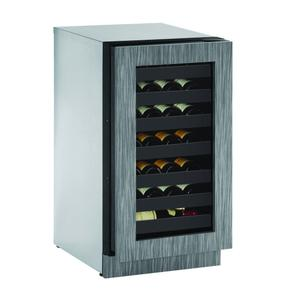 "U-LINE2218wc 18"" Wine Refrigerator With Integrated Frame Finish (115 V/60 Hz Volts /60 Hz Hz)"