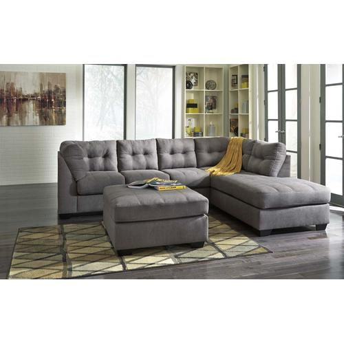 Maier Charcoal Sectional Right