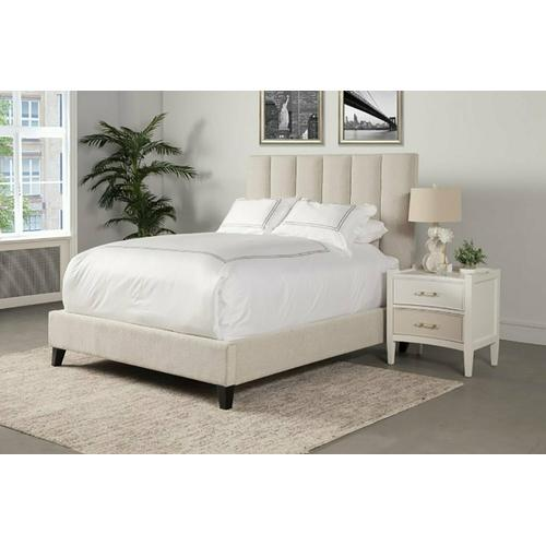 AVERY - DUNE Upholstered Bed Collection (Natural)