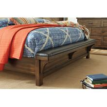 Lakeleigh K/CK UPH Bench Footboard Brown
