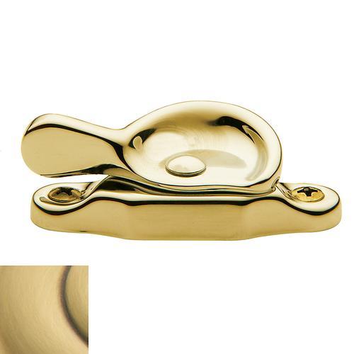 Baldwin - Satin Brass and Brown Sash Lock
