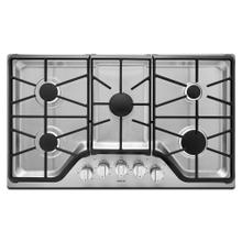 See Details - 36-inch Wide Gas Cooktop with DuraGuard™ Protective Finish