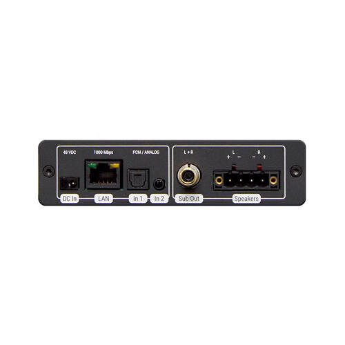 Universal Remote Control - Single Zone Amplifier