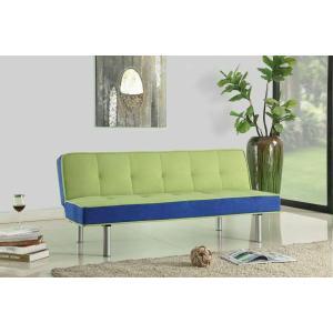 Acme Furniture Inc - ACME Hailey Adjustable Sofa - 57135 - Green & Blue Flannel