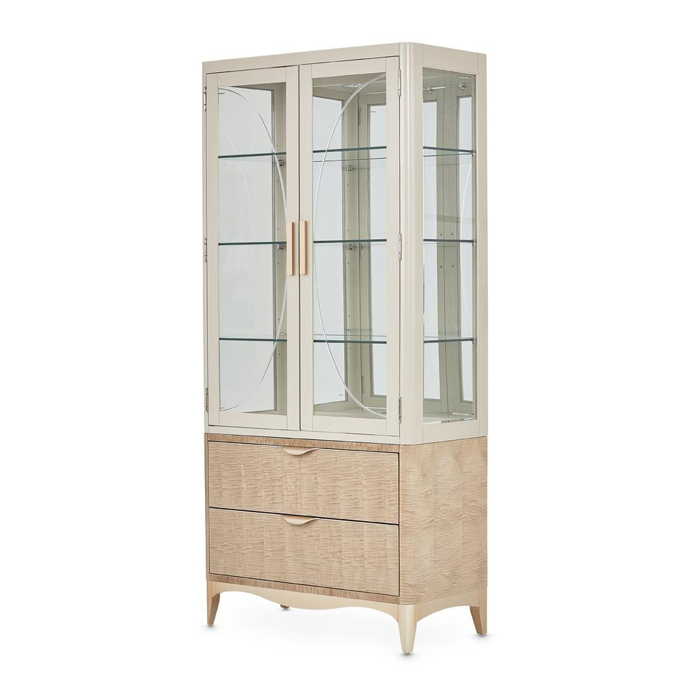 See Details - Display Cabinet (2 Pc)