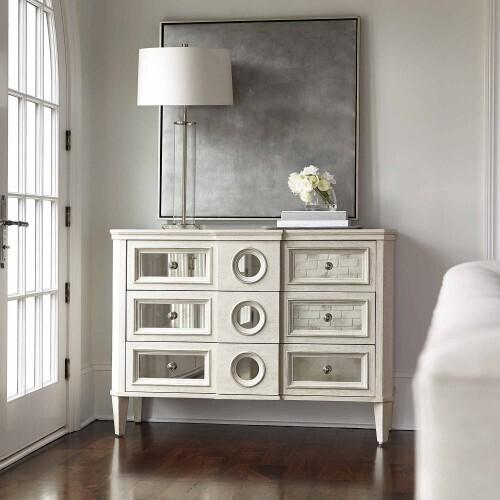 Gallery - Allure Hall Chest in Manor White (399)