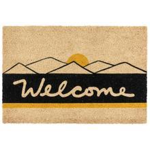 See Details - Doormat Desert Welcome Black/Gold 24x36